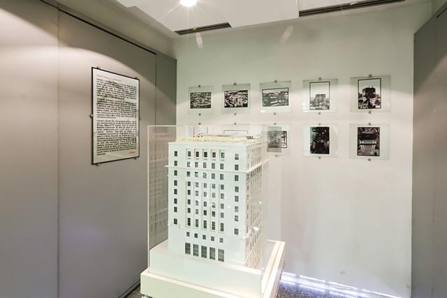 Maquete do prédio da Prefeitura de São Paulo