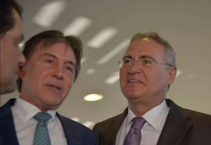Eunício Oliveira e Renan.